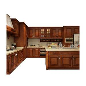 Solid Cherry Wood Kitchen Cabinet Manufacturers
