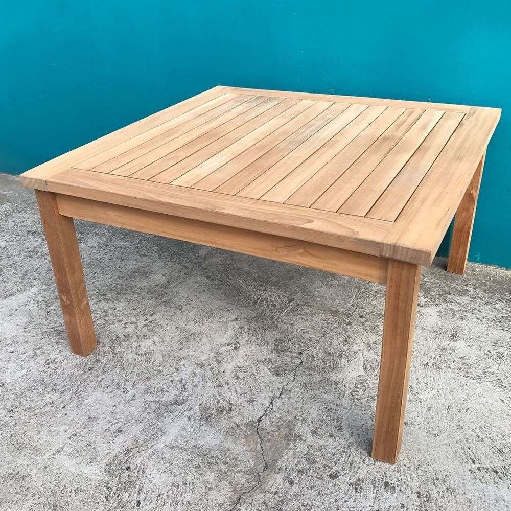 Solid Table Teak Manufacturers