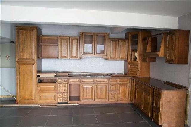 Solid Wood Birch Kitchen Cabinet Manufacturers
