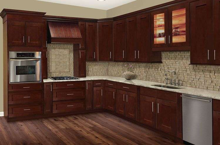Solid Wood Cherry Kitchen Cabinet Manufacturers