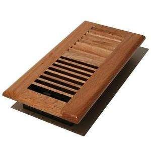 Solid Wood Floor Register Manufacturers