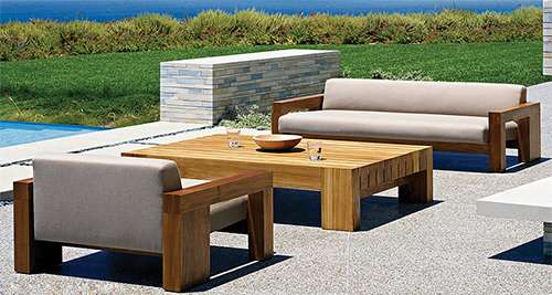 Solid Wood Patio Furniture Manufacturers
