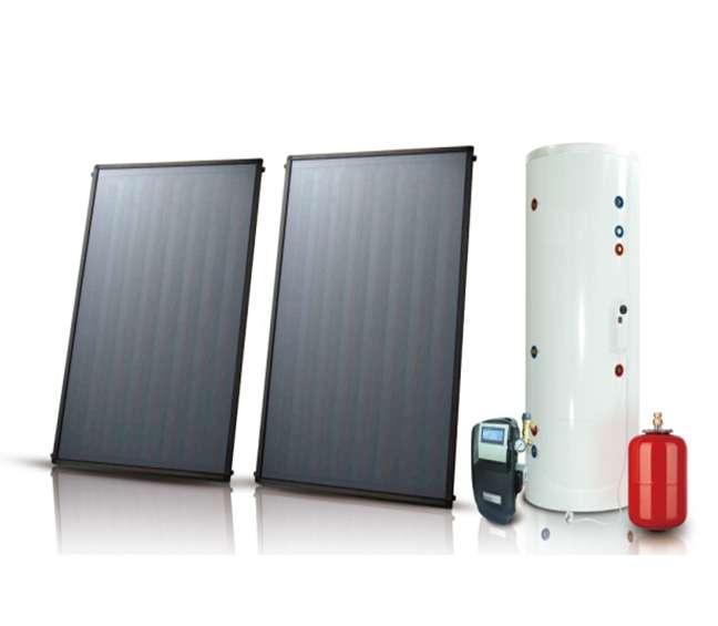 分体式平板太阳能热水器 制造商