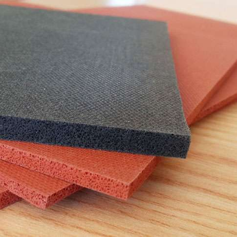 Sponge Rubber Sheet Silicone Manufacturers