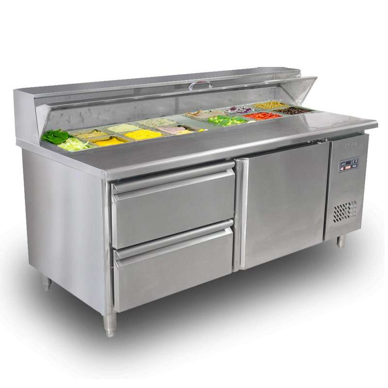Stainless Salad Bar Manufacturers