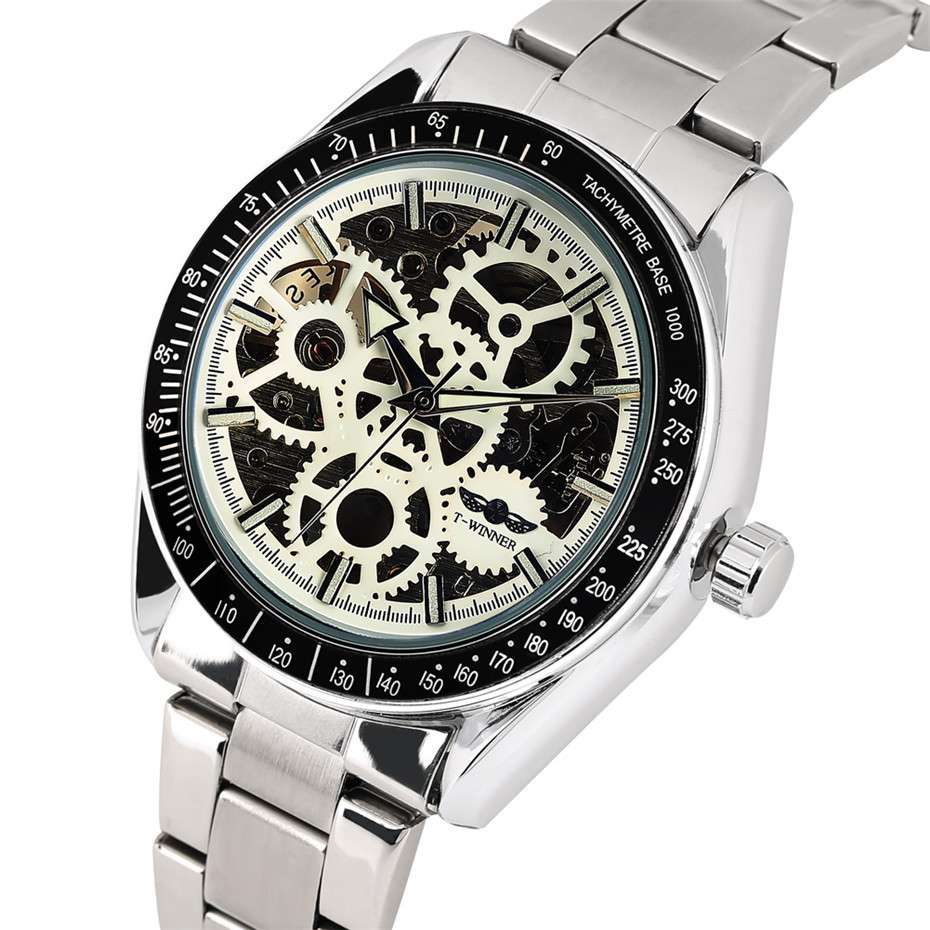 Stainless Steel Automatic Mechanical Watch Manufacturers