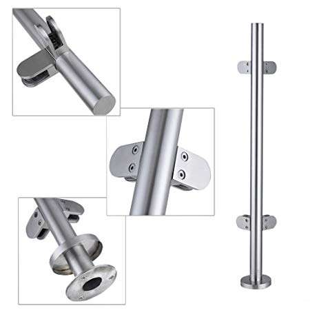 Stainless Steel Balustrade Glass Clamp Manufacturers