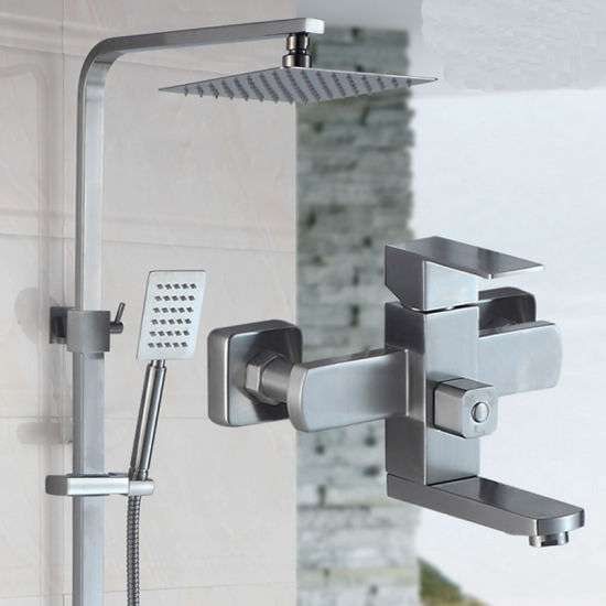Stainless Steel Bathroom Shower Set Manufacturers