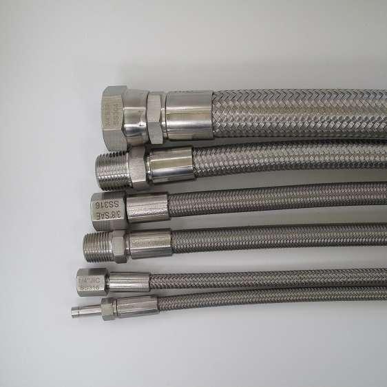 不锈钢编织液压软管 制造商