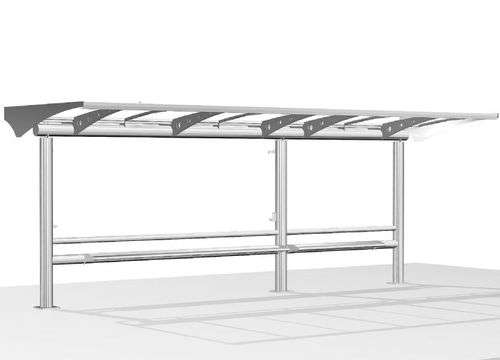 Stainless Steel Bus Shelter Manufacturers