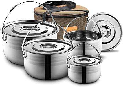 Stainless Steel Camp Cookware Manufacturers