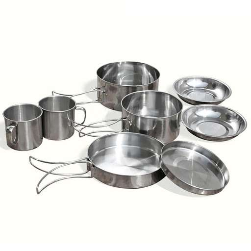 Stainless Steel Camping Cookware Manufacturers