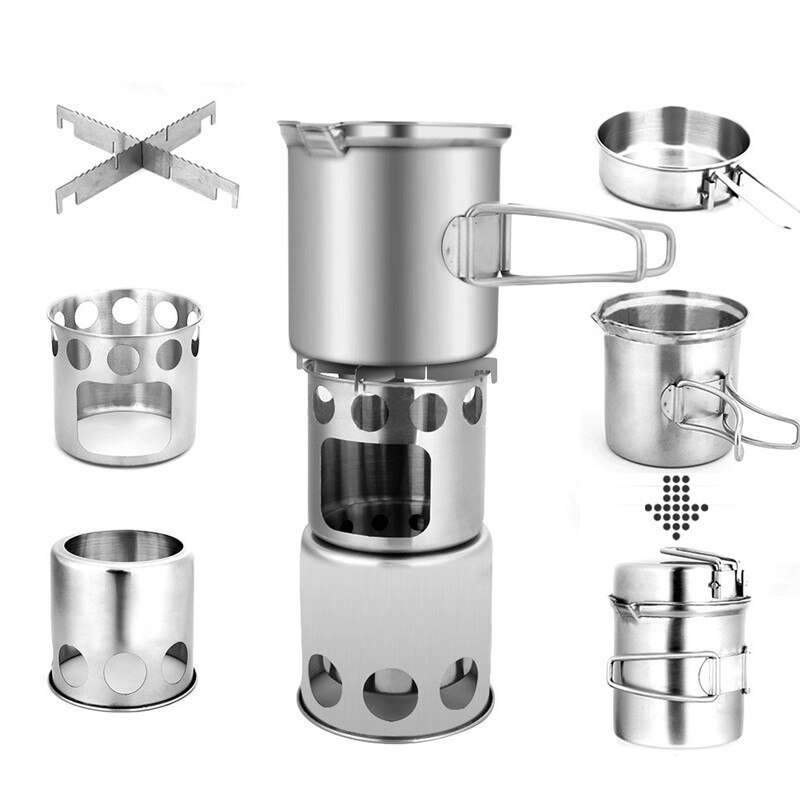 Stainless Steel Camping Set Manufacturers
