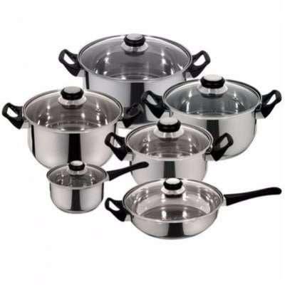 Stainless Steel Cookware Pot Set Manufacturers