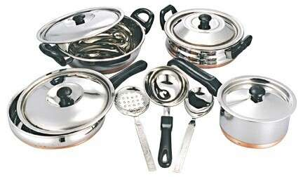 Stainless Steel Cookware Utensil Manufacturers