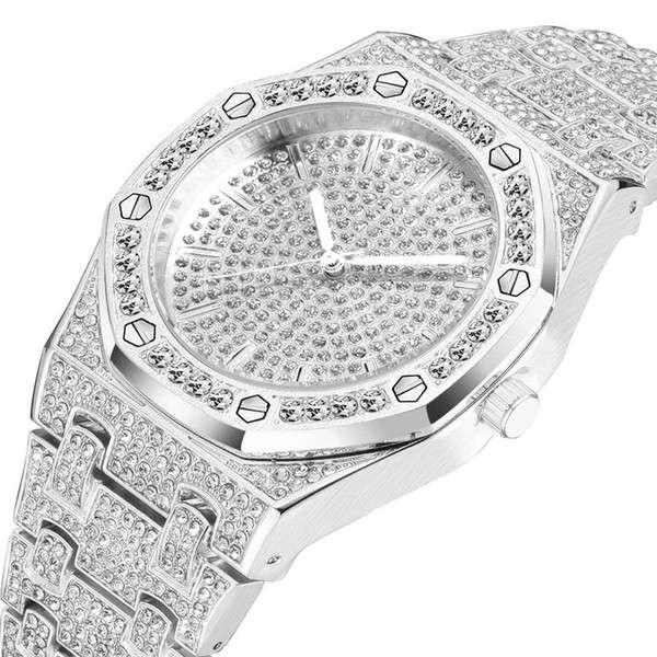 Stainless Steel Diamond Watch Manufacturers