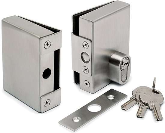 Stainless Steel Glass Door Lock Manufacturers