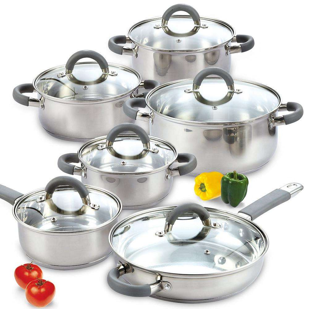 Stainless Steel Kitchen Cookware Set Manufacturers