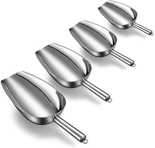 Stainless Steel Kitchen Ice Scoop Manufacturers