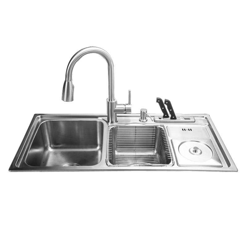 Stainless Steel Kitchen Sink Set Manufacturers