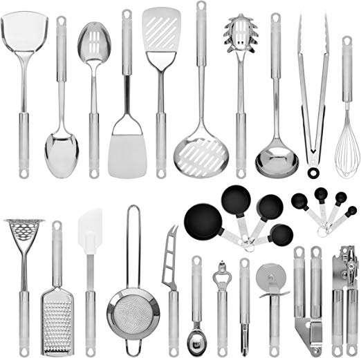 Stainless Steel Kitchen Utensil Set Manufacturers