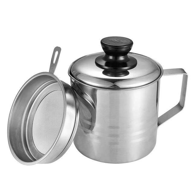 Stainless Steel Oil Strainer Pot Manufacturers