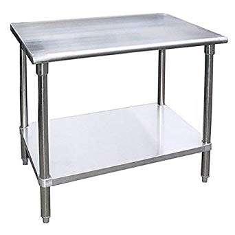 不锈钢餐厅工作桌 制造商