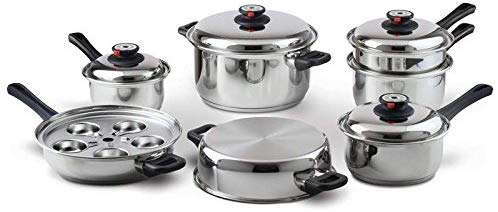 Stainless Steel Waterless Cookware Manufacturers