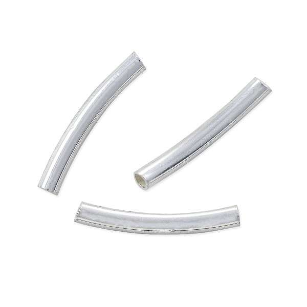 Sterling Silver Curved Tube Manufacturers