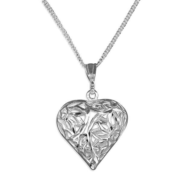 Sterling Silver Diamond Cut Pendent Manufacturers