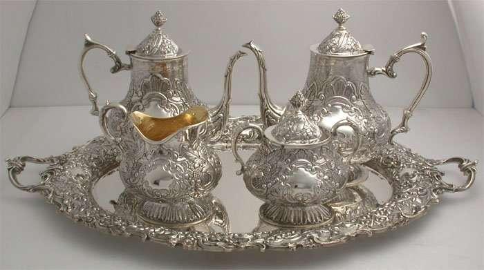 Sterling Silver Tea Set Manufacturers