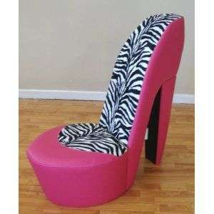 Zebra High Heel Chair Manufacturers