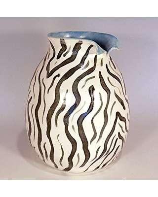 斑马陶器花瓶 制造商