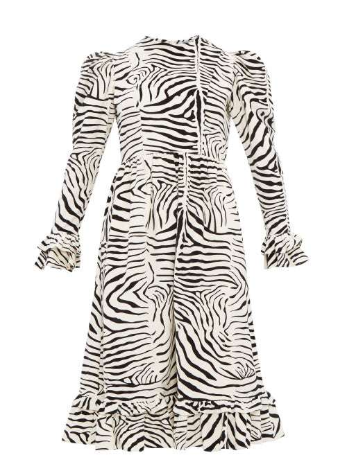 Zebra Print Wedding Dres Manufacturers