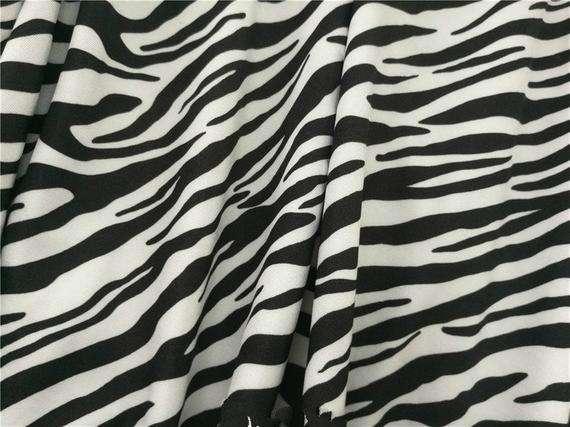 Zebra Stripe Printed Nylon Fabric Manufacturers