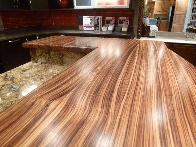 Zebra Wood Countertop Manufacturers
