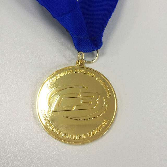 Zinc Alloy Gold Medal Manufacturers
