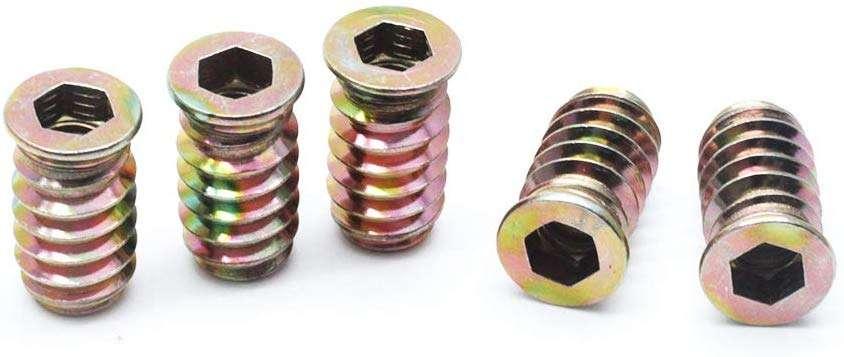 Zinc Alloy Insert Nut Manufacturers