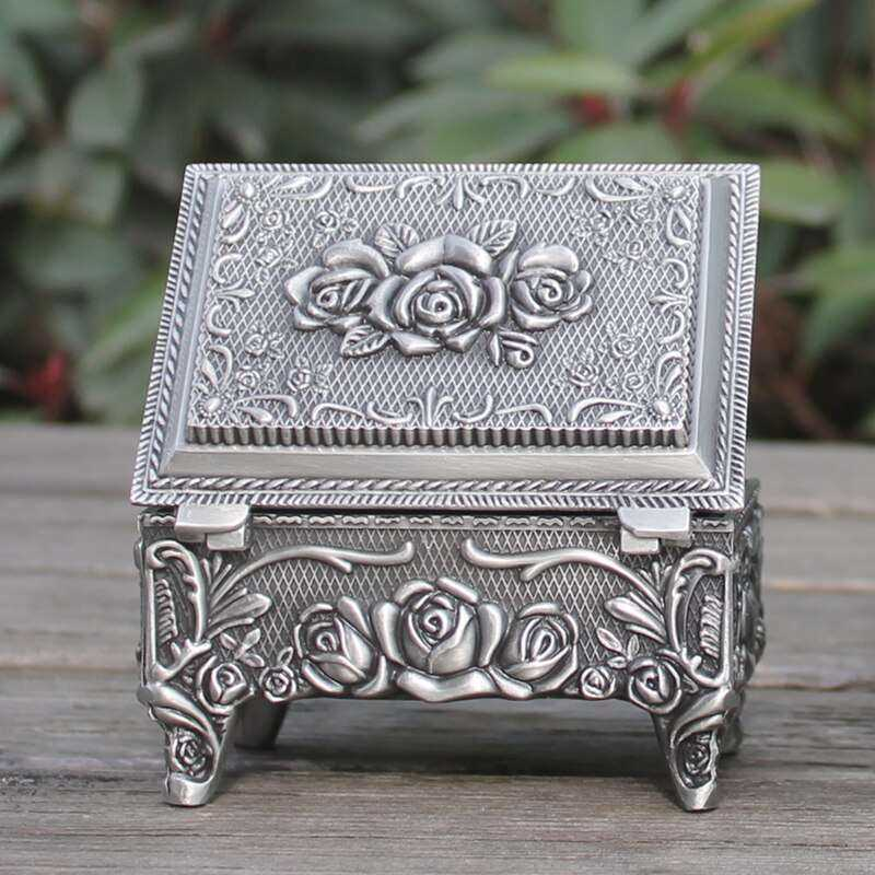 Zinc Alloy Jewelry Box Manufacturers