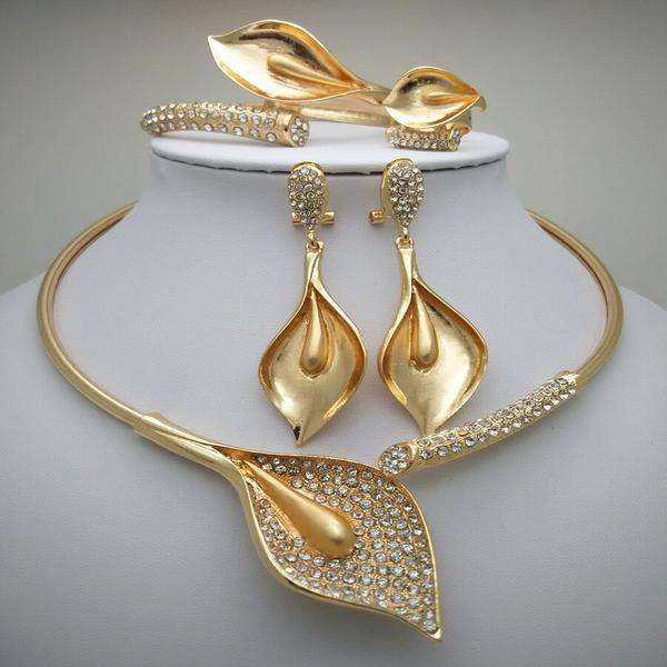 Zinc Alloy Jewelry Set Manufacturers