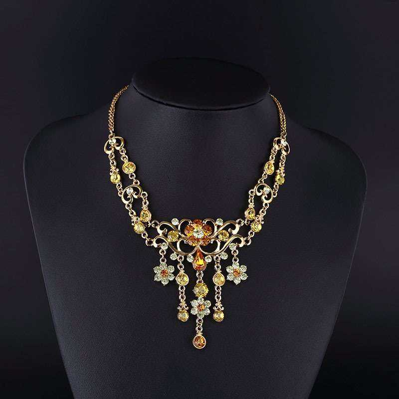 Zinc Alloy Necklace Set Manufacturers
