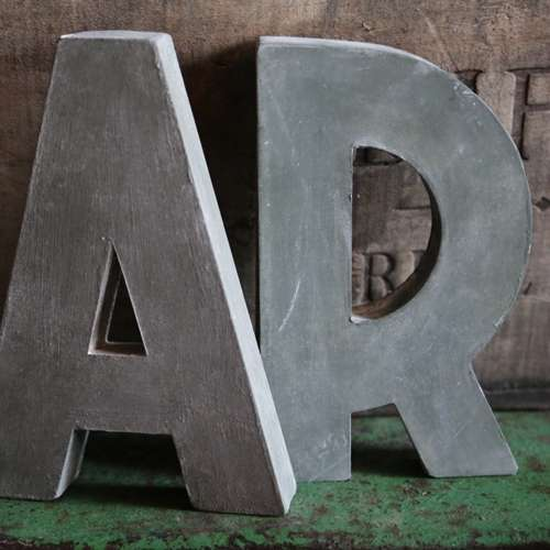 Zinc Metal Letter Manufacturers