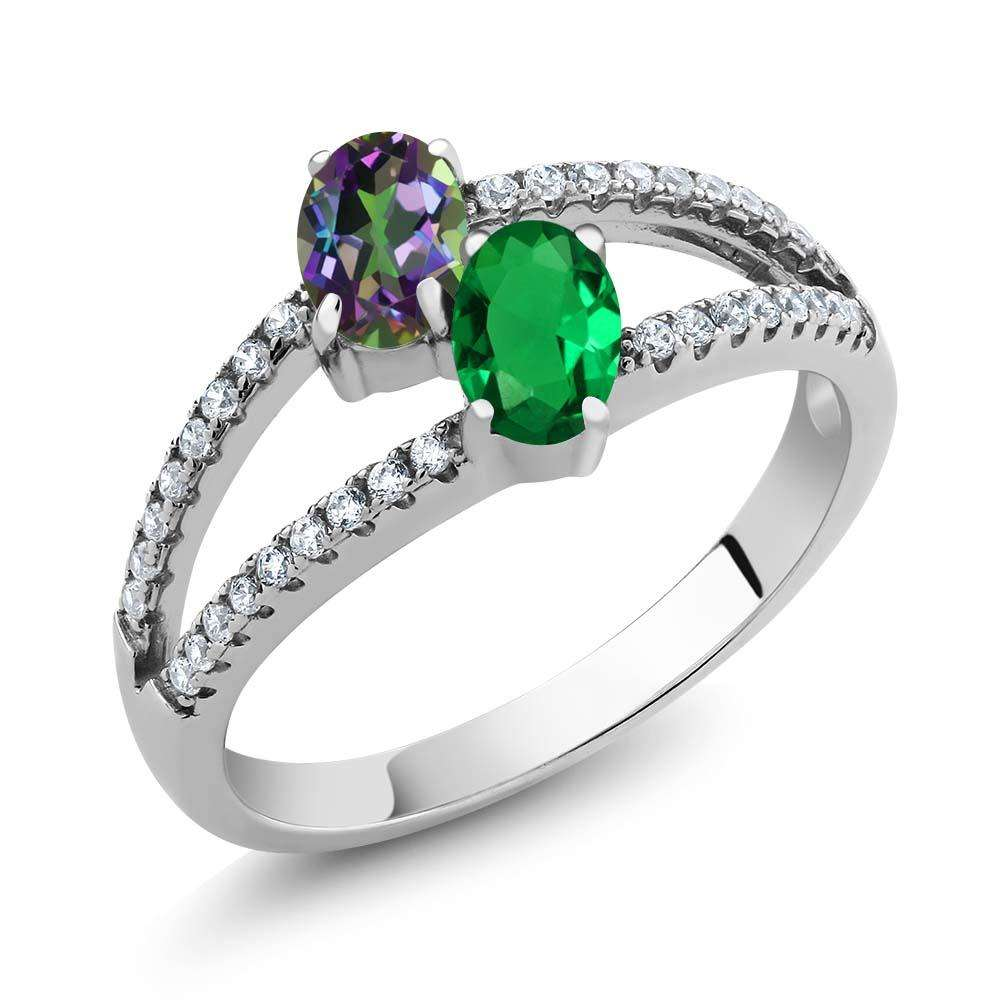 Zircon Emerald Two Stone Manufacturers