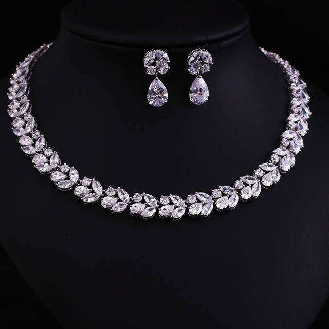 Zircon Jewelry Necklace Set Manufacturers
