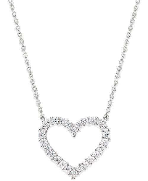 Zirconia Heart Necklace Manufacturers