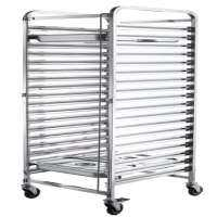 Stainless Steel Tray Trolley Manufacturers