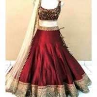 新娘丝绸Lehenga 制造商