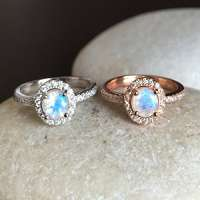 Moon Stone Ring Manufacturers