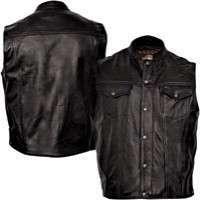 Mens Leather Vest Manufacturers