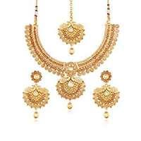 Kundan Gold Necklace Set Manufacturers